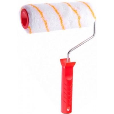 Валик малярный с ручкой 250мм (полиакрил, ворс 11мм, ∅48мм, бюгель 8мм) 0312012
