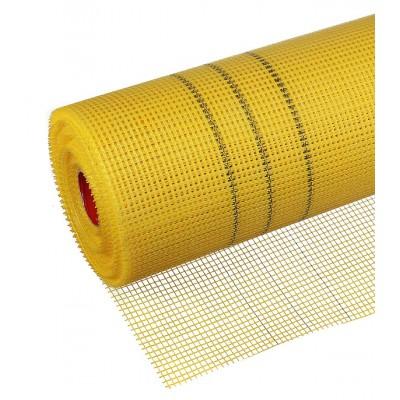 Сетка строительная универсальная желтая (5Х5) 1х20м Fiberon