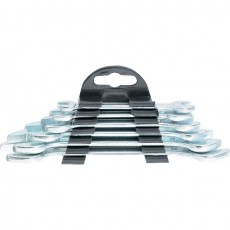 Набор ключей рожковых,  6 х 17 мм, 6 шт., хромированные// SPARTA 152305