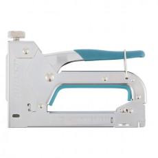 Степлер мебельный регулируемый стальной корпус, тип скобы 53, 4-14мм//GROSS 41000