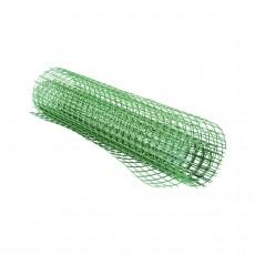 Сетка пластиковая садовая зеленая 20*20 М2832