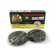 Ловушка от ползающих насекомых Zondex, 4 шт.