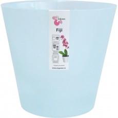 Горшок для цветов Фиджи Орхид D 230 мм 5 л голубой перламутр