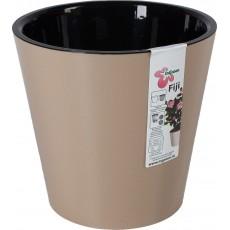 Горшок для цветов Фиджи D160 мм/1,6 литра (шоколадный)