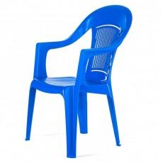 "Кресло пластиковое ""Фламинго"" синее"