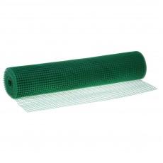 Сетка пластиковая от птиц и для птичников Урожайная сотка 13х15 (1х10 м) Зеленый