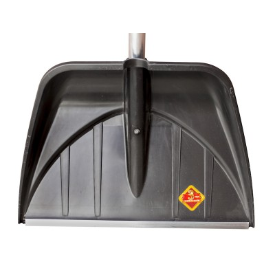 """Ковш для снеговой лопаты-скрепера PROTEX """"ПРОФИ"""" 555х410 (черный)"""