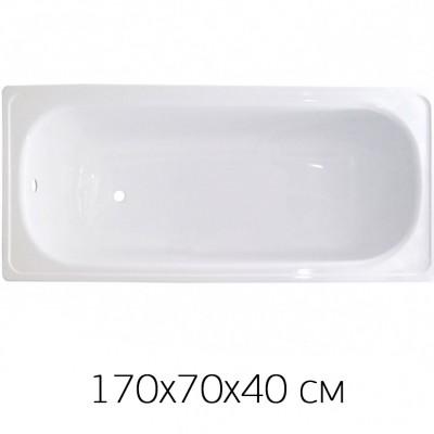 Ванна ANTIKA, стальная, эмалированная, 170х70х40