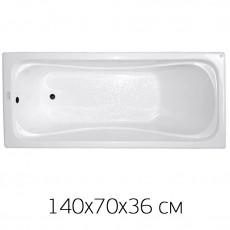 """Ванна Triton """"Стандарт - 140"""" 140х70, без слива/перелива, БЕЗ НОЖЕК"""