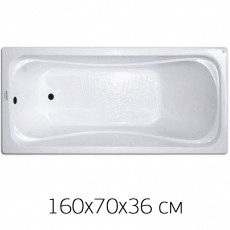 "Ванна Triton ""Стандарт - 160"" 160х70, без ножек"