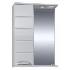 """Зеркальный шкаф """"Родос-50"""" левый, свет"""