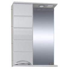"""Зеркальный шкаф """"Родос-60"""" левый, свет"""
