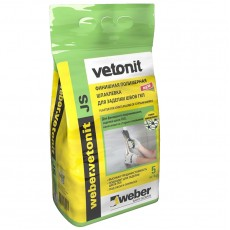 """Шпаклевка полимерная белая """"Vetonit JS"""" финишная 5кг"""