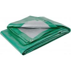 Тент из полиэтиленовой ткани зеленый ТЗ-120 2м*3м