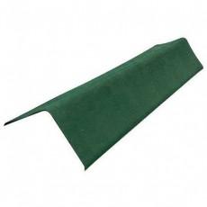 Коньковый элемент ондулин зеленый 1м.