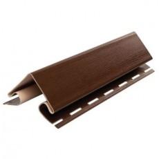 """Наружный угол """"VOX"""" коричневый 3,05 м"""