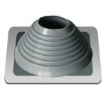 Мастер Флеш крашеный силиконовый серый прямой 178-330mm
