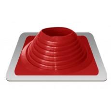 Мастер Флеш крашеный силиконовый красный прямой 178-330mm