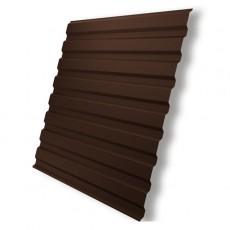 Профнастил С-8 RAL 8017 шоколад 0,35х1200х2000