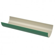 Желоб водосточный ТехноНИКОЛЬ ПВХ, 1,5м, зеленый