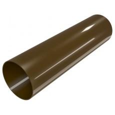 Труба водосточная ПВХ, 1,5 м, коричневый,  ТехноНИКОЛЬ