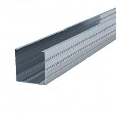 Профиль перегородочный стоечный ПС100/50х0,6мм, L=3,0м (упаковка-12шт)
