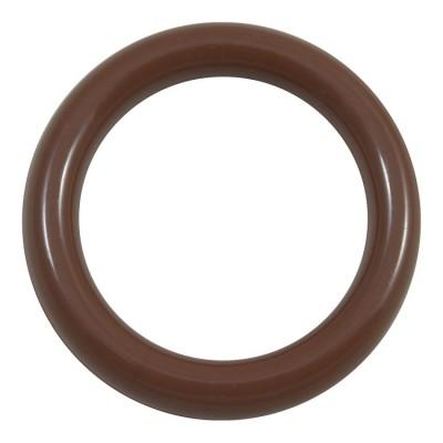 Кольцо пластик Д28 Вишня (10 шт. в упаковке)