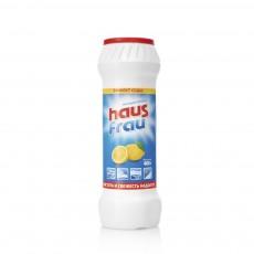 Чистящий порошок Haus Frau универсальный с ароматом лимона 400г