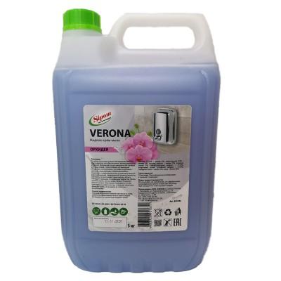 Жидкое мыло 5 л 941514 Verona Орхидея-лотос