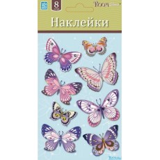 05008 Бабочки розовые мини Стикер LCHPA