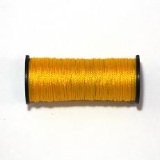 Нить капроновая на катушке 50 м жёлтая усиленная