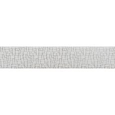 Бленда Рондо Белый Хром 67 мм