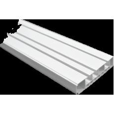 Шина потолочная 2 м с комплектом  3-х рядная