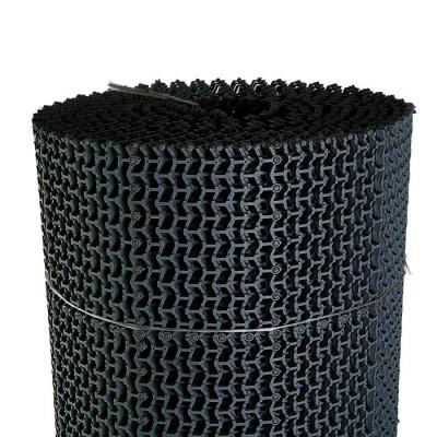 Дорожка модульная Волна 1м*10 м (черная)