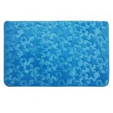 Коврик для ванной 50/80 Fresh Звезды голубые