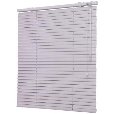Жалюзи горизонтальные алюминиевые белые 150x160 см