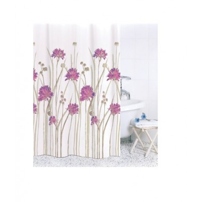 Штора для ванной Flowers Pink ch16007/2