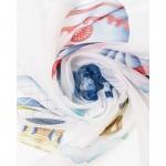 Вуаль-Принт P21-01 Воздушные шары Белая 300*260 см