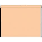 Рулонная штора персик 140*160