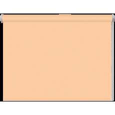 52x160 Рулонная штора персик