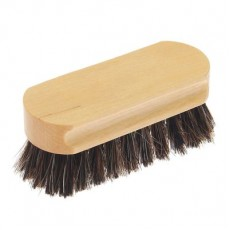 Деревянная щетка Vister для обуви, конский волос, маленькая