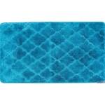 Коврик в ванну ЛАНА 120х70 из микрофибры бирюза GR231