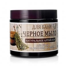 Мыло для бани и душа черное натуральное Алтайское Day Spa  черное 500МЛ