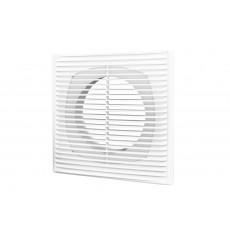 Решетка вентиляционная приточно-вытяжная АБС 150х150 с фланцем D100