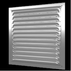 2020МЦ, Решетка вытяжная стальная с оцинкованным покрытием 200х200